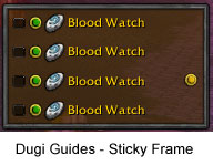 Dugi Guides - Sticky Frame