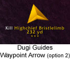 Dugi Guides - Waypoint Arrow
