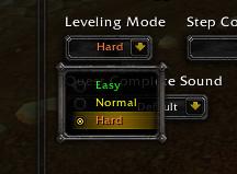 Leveling Mode